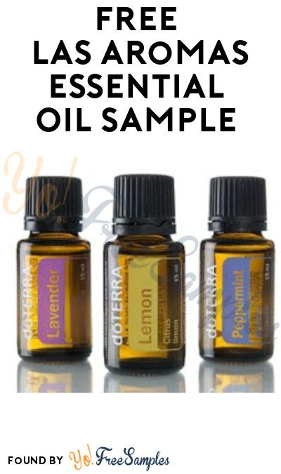 Free Las Aromas Essential Oil Sample Free Stuff Coupons