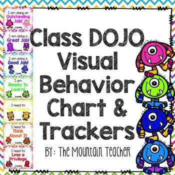 Class DOJO Clip Chart & Behavior Trackers | Second Grade | Class