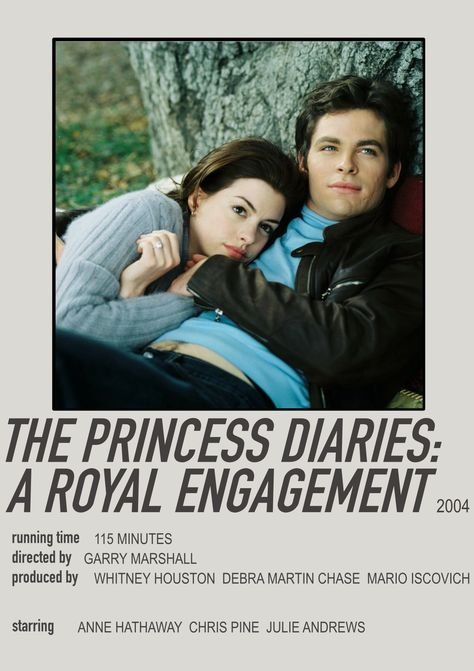 *The Princess Diaries: A Royal Engagement* Polaroid Poster