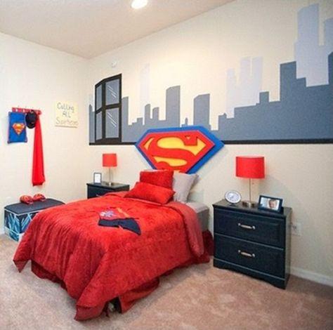 Superman Boys Bedroom Themes 1   Boys bedroom themes ...