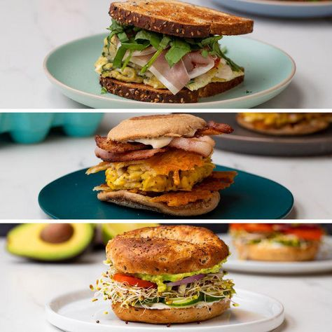 Breakfast sandwiches are just what you need for those busy mornings. Thanks to GEICO, you can learn to make these sandwiches in 15 minutes or less!