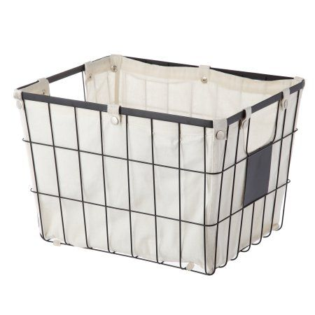 6ead35f0a2409a4d4e87abb13134a855 - Better Homes And Gardens Wire Basket With Chalkboard Black
