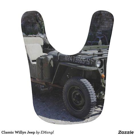 Classic Willys Jeep Baby Bib