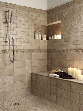 Web Photo Gallery small bathroom tile shower ideas Florida Tiles Millenia traditional bathroom tile san francisco Dream Home Pinterest Bathroom tile showers