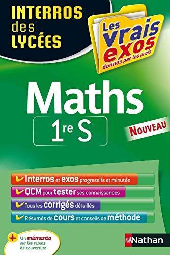 Saturnlivre Maynarda Telecharger Interros Des Lycees Maths 1re S Lycee Telechargement Sujet Du Bac