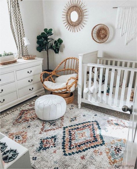 10 Beautiful Boho Nursery Decor Ideas - DIY Darlin' - - Today I am sharing with you some of the sweetest boho nursery decor ideas!