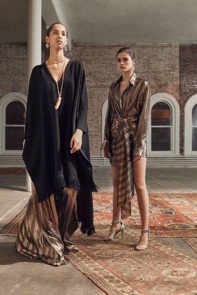 Oscar de la Renta Pre-Fall 2019 collection, runway looks, beauty, models, and reviews.