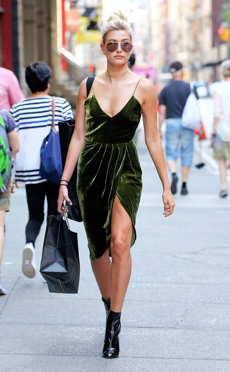 Evergreen Queen from Hailey Baldwin's Best Looks on E! Online
