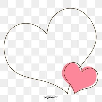 Love Border Border Clipart Vector Painted Png Transparent Clipart Image And Psd File For Free Download Love Png Love Frames How To Draw Hands