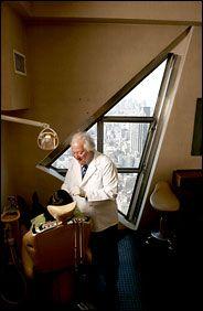 Kakosian Dentists, floor of the Chrysler Building,New York