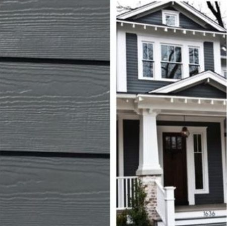 Sherwin Williams Peppercorn Gray Dark Exterior Gray House Exterior House Paint Exterior Exterior Paint Colors For House