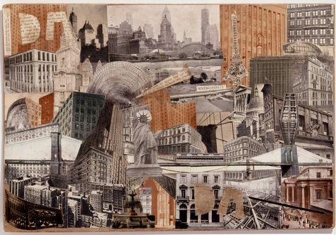 Erwin Blumenfeld, Metropolis, 1930