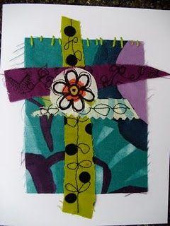 fabric art by Robin Olson