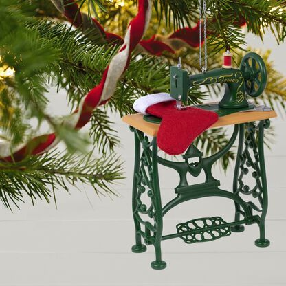 Sew Sew Happy Ornament Keepsake Ornaments Hallmark Hallmark Ornaments
