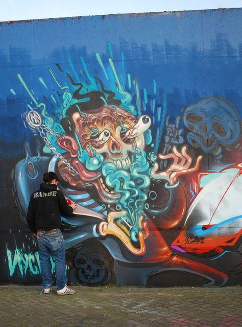 A arte impressionante de NYCHOS-#ARTE #DE #impressionante #Nychos