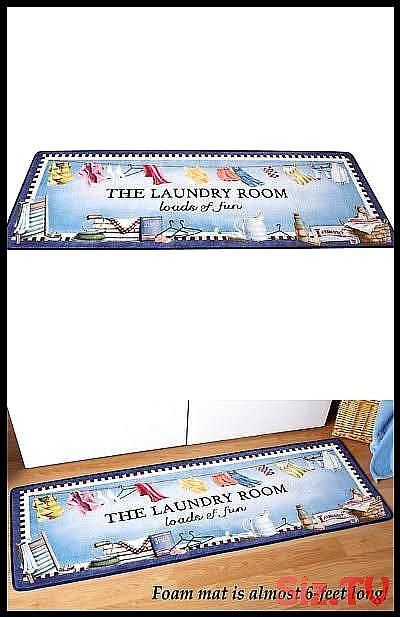 Other Rugs And Carpets 8409 Loads Of Fun Laundry Room Floor Mat By