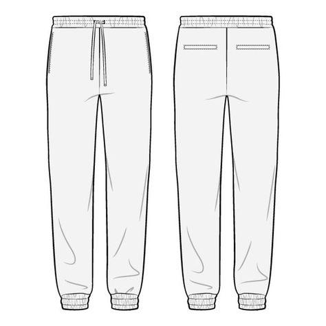 Read the full title Slim fit Joggers PDF Sewing Pattern Sizes XS / S / M / L / XL