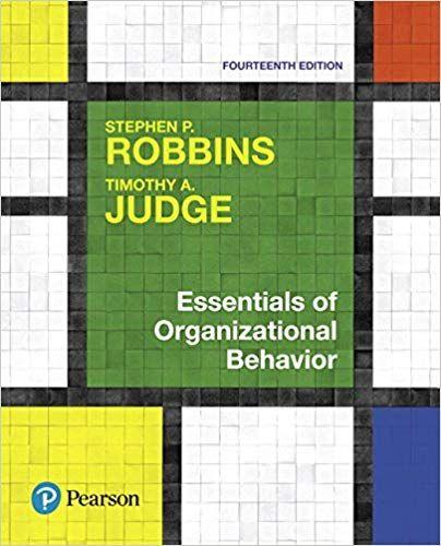 Essentials Of Organizational Behavior 14th Edition Isbn 13 978 0134523859 Ebookschoice Com Https E Organizational Behavior Book Essentials Organizational