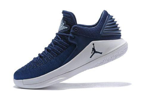 7bd3dcec694 2018 Air Jordan 32 Low Midnight Navy/White Shoes w 2019 | Nike