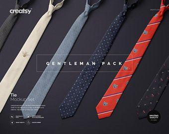 Tie Mockup Set Custom Tie Tie Template Personalized Neck Tie Tie Mockup On Dress Shirt Tie On Hanger Ps Free Psd Mockups Templates Mockup Free Psd Tie Template