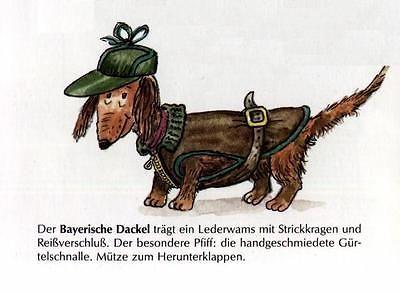 Dachshund Choir L Matted Dog Art Print German New 9 95 Dog Print Art Dachshund Art Antique Dog Prints