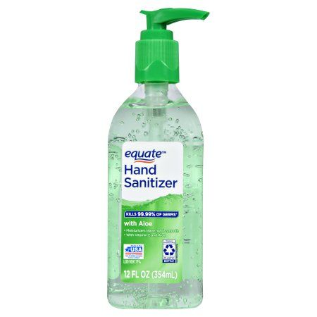 Equate Hand Sanitizer With Aloe 12 Oz Products Hand Sanitizer