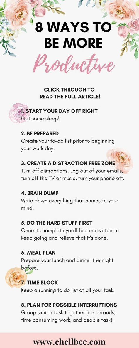 8 Simple Ways to be More Productive Today
