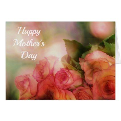 Beautiful Roses Mother 39 S Day Card Beautiful Floral