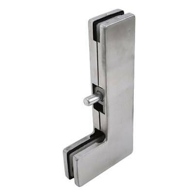 Frameless Thick Glass Door Bottom Top Pivoted Clamp L Pivot Clamp Patch Fittings Glass Door Glass Shower Doors Frameless Frameless Glass Doors