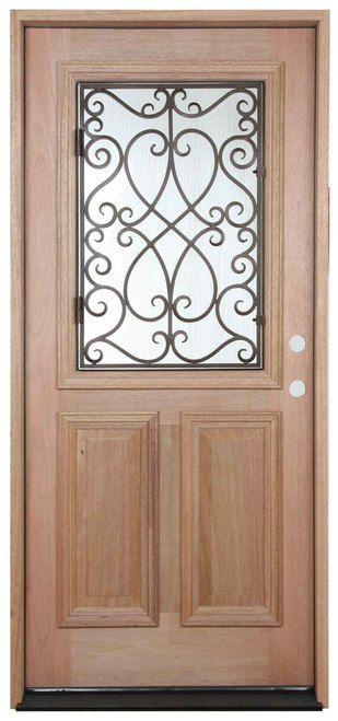 3 0 X6 8 Zara 1 2 Grille Mahogany Exterior Door Mahogany Exterior Doors Doors Mahogany