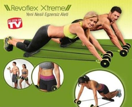 Revoflex Xtreme Alat Olahraga Gym Fitnes Kurus Praktis Kebugaran Olahraga Pembentukan Tubuh