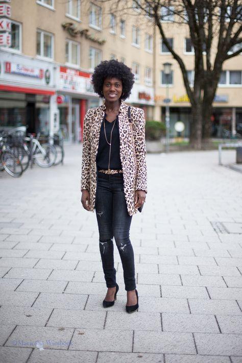 Leopard-Mantel