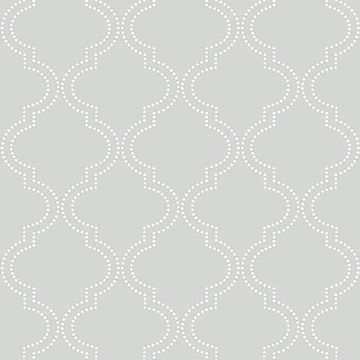 Tailored Peel Stick Wallpaper Quatrefoil Wallpaper Nuwallpaper Trellis Wallpaper