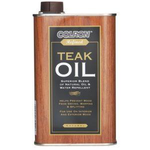 Colron Refined Matt Teak Oil 0 5l Teak Oil Teak Wood Wood Oil