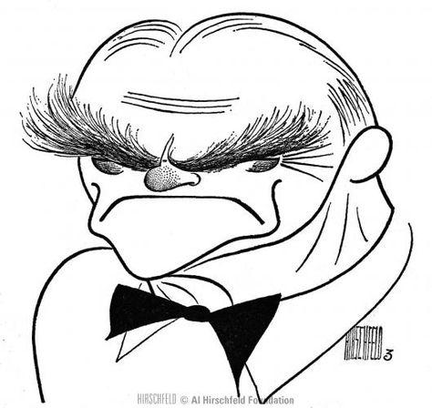 Al Hirschfeld ~ James Cagney