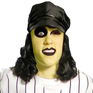 Baseball Furies Cap With Wig Costume Hats Halloween Cosutme In Stock Wigs Costume Hats Cap