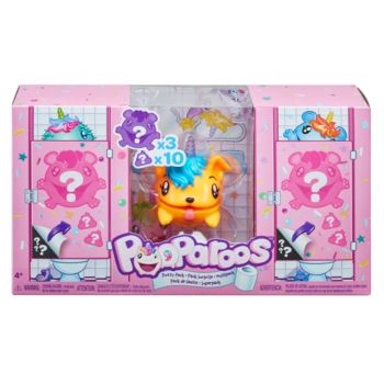 Purple /& Pink Unicorn Pooparoos Potty Pack Mystery Pack