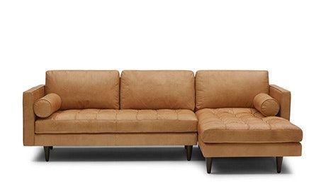 Briar Leather Sofa En 2020 Salon