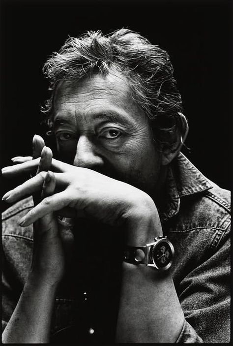 #Photography de Serge #Gainsbourg
