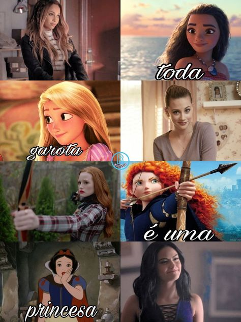 As mais belas de riverdale ! ❤️ Real galeras
