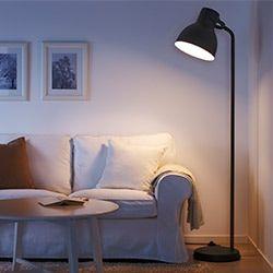 Bedroom Lighting Ikea In 2020 Reading Lamp Floor Floor Lamp Black Floor Lamp