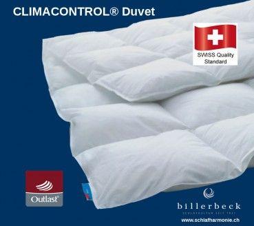 Billerbeck Climacontrol Superlight Bettecke Duvet Swiss Made