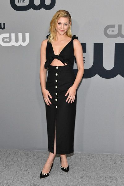 Lili Reinhart attends the 2018 CW Network Upfront at The London Hotel.