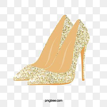 Vector De Sapatos De Salto Alto Clipart De Salto Alto Sapatos De Salto Alto Vetor Imagem Png E Psd Para Download Gratuito In 2021 Gold High Heels Heels Junior High Heels