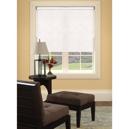 Bali Size At Home Vinyl Roller Shades Available In Multiple Sizes And Colors White Roller Shades Home Cordless Roller Shade