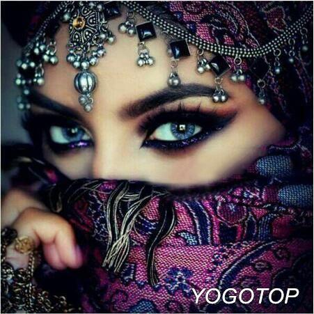 5D Diamond Painting Purple Masked Eyes Kit