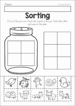 Spring Preschool Worksheets & Activities | Worksheets, Activities ...