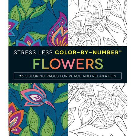 Books Stress Less Coloring Pages Stress