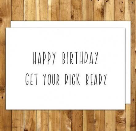 Trendy Funny Happy Birthday Boyfriend Quotes Greeting Card 42 Ideas Naughty Birthday Cards Husband Birthday Card Birthday Cards For Friends