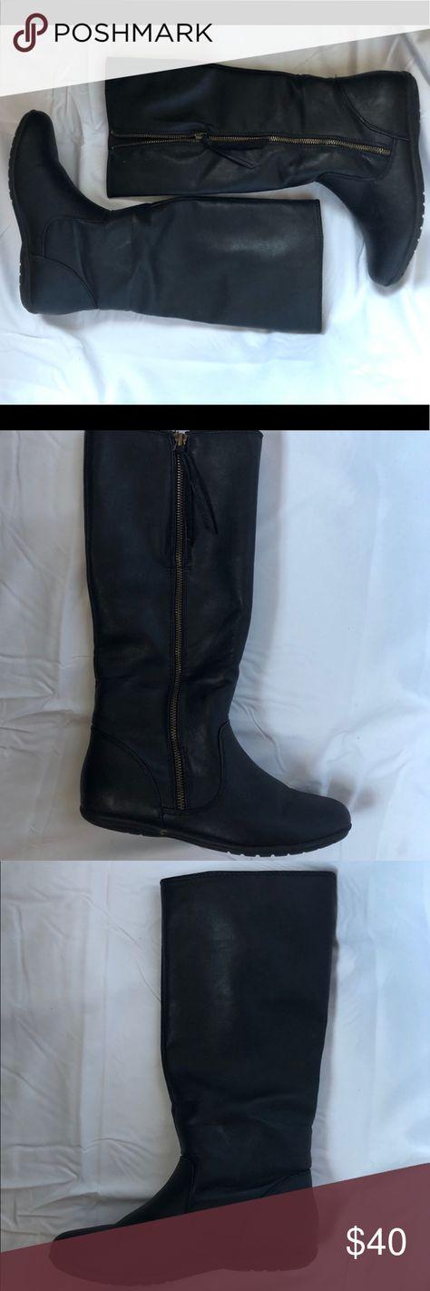 Riding Boots Side Zipper 8.5